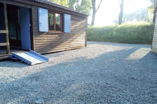 Chalet with ramp for disabled accesss